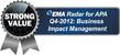 EMA APA 2012 Radar StrongValue AWARD BUSINESS